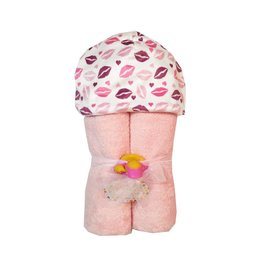Baby Jar Kisses Hooded Towel