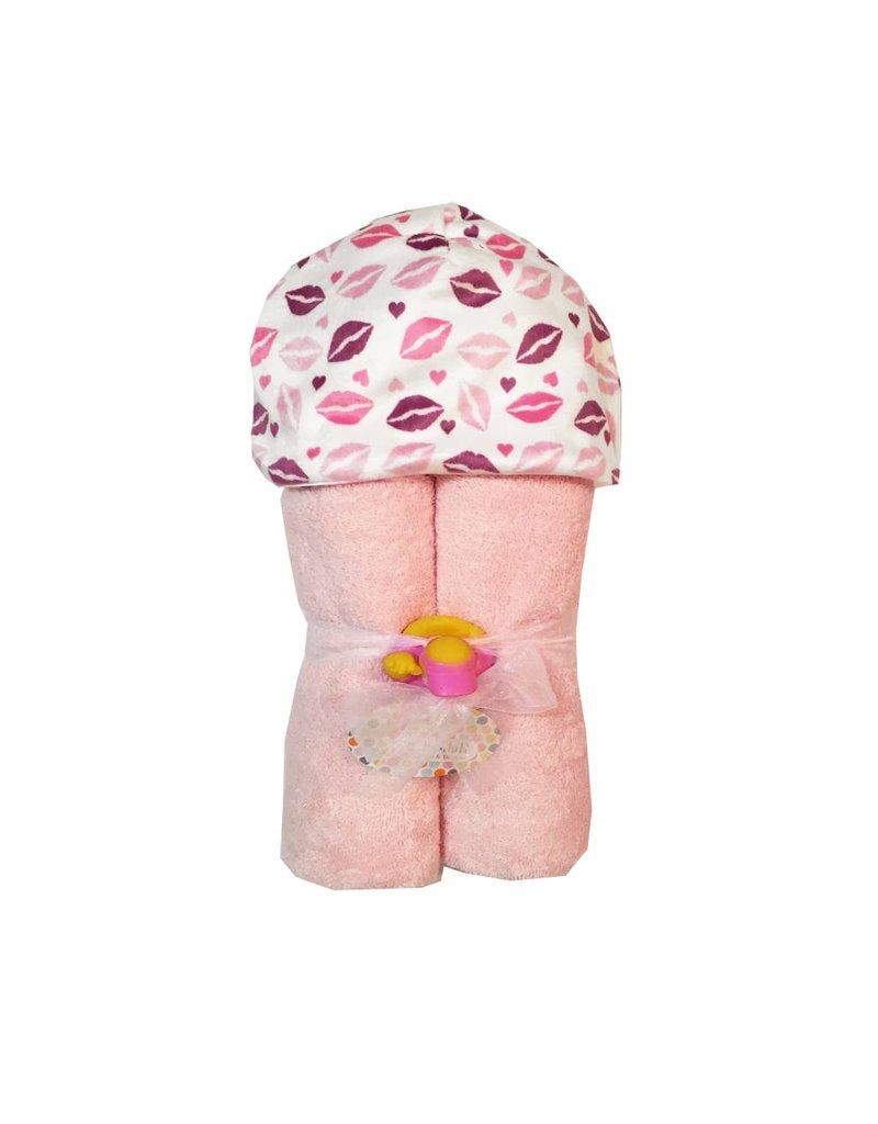 Baby Jar Kisses Hooded Towel