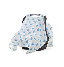 Aden & Anais Blue Star Car Seat Canopy