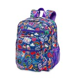 Denim Patch Backpack