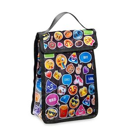 Emojicon Funk Black Snack Bag