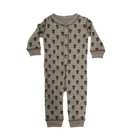 PJ Salvage Thermal Skulls Romper