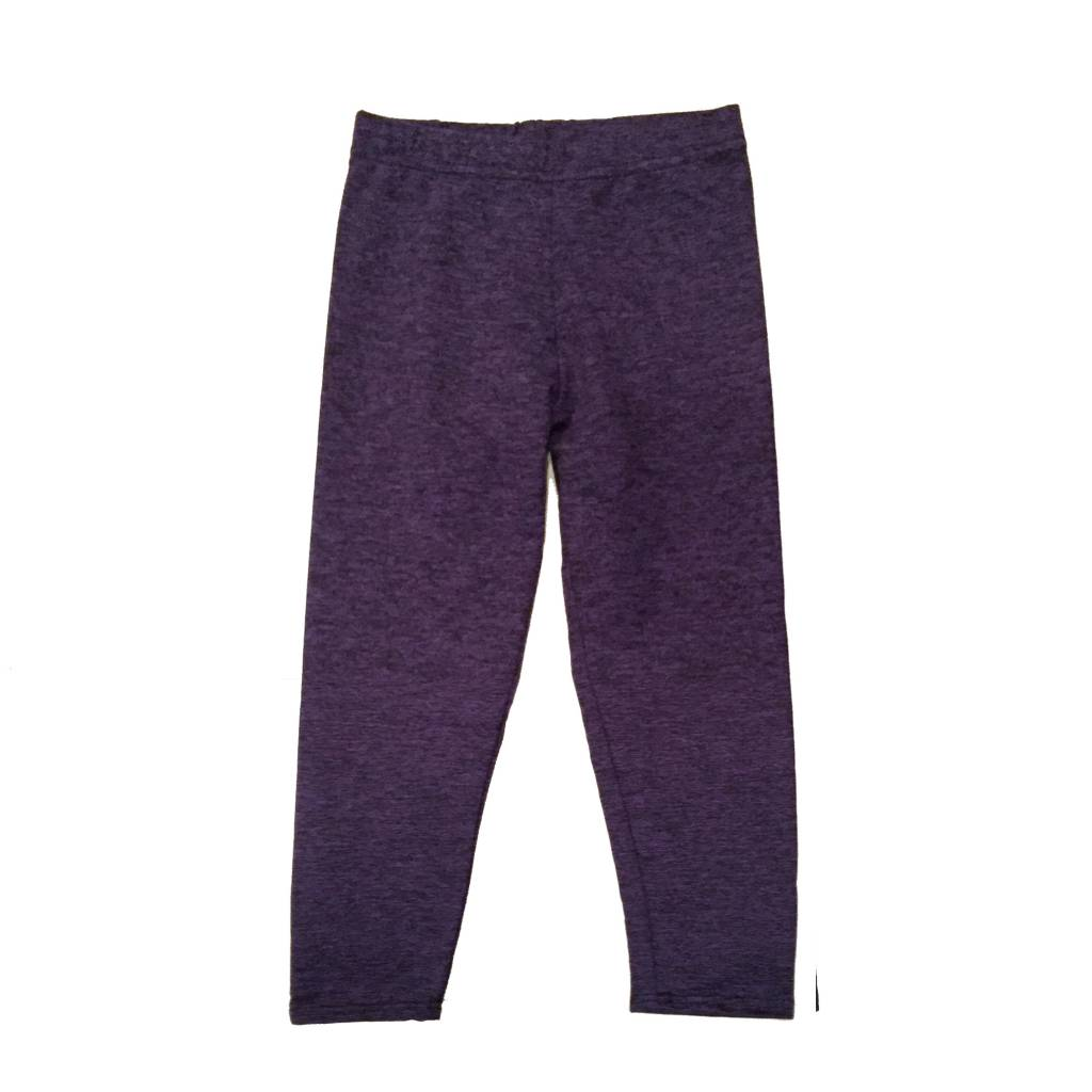 Dori Infant Purple/Black Heather Legging