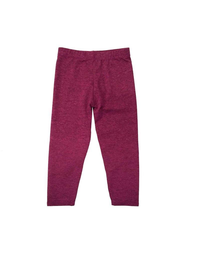 Dori Infant Pink/Black Heather Legging