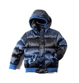 Appaman Blue Wave Puffy Coat
