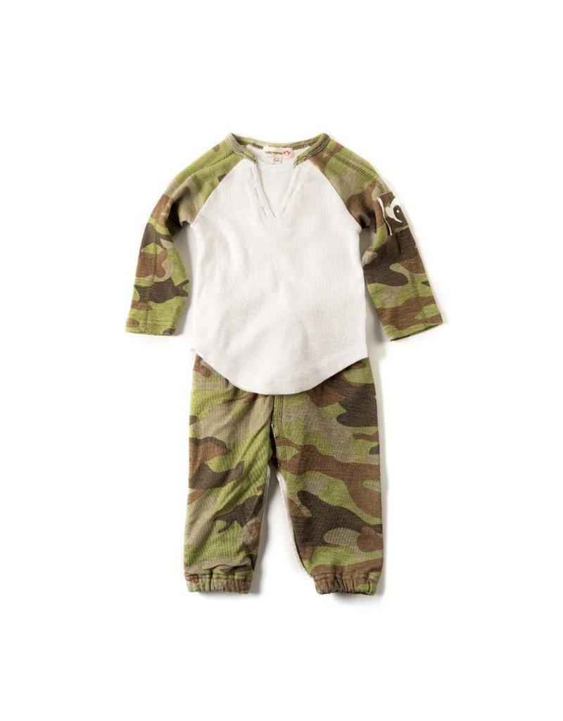 Appaman Infant Camo Sweats Set