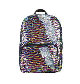 Rainbow Reversible Sequin Backpack