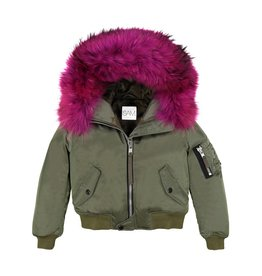 SAM Jenny Bomber Coat