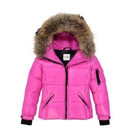 SAM Blake Down Coat with Fur Hood