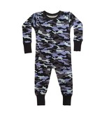 Baby Steps Navy Camo PJ Set