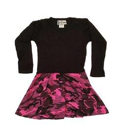 Dori Creations Pink Camo Dress