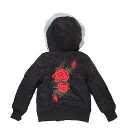 Vintage Havana Rose Bomber Jacket
