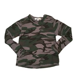 Joah Love Infant Overdyed Camo Top