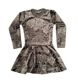 Dori Creations Velvet Rose Dress