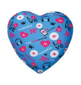 Musical.ly Heart Microbead Pillow