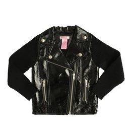Design History Shiny Pleather Jacket