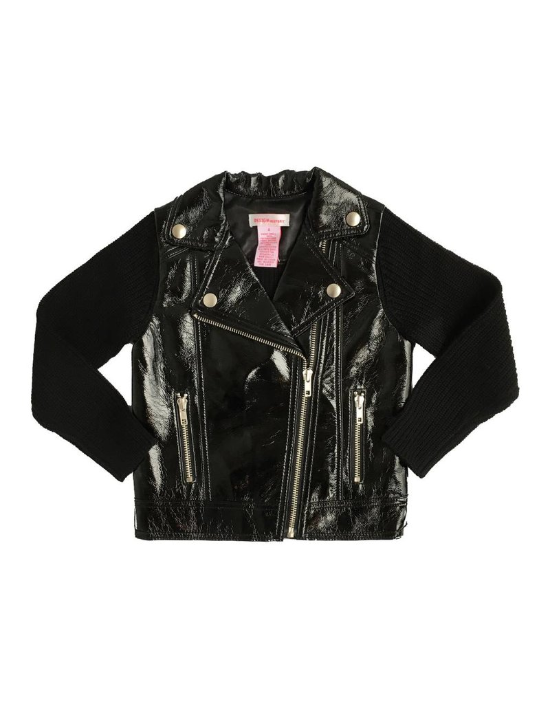 Design History Shiny Pleather Jacket