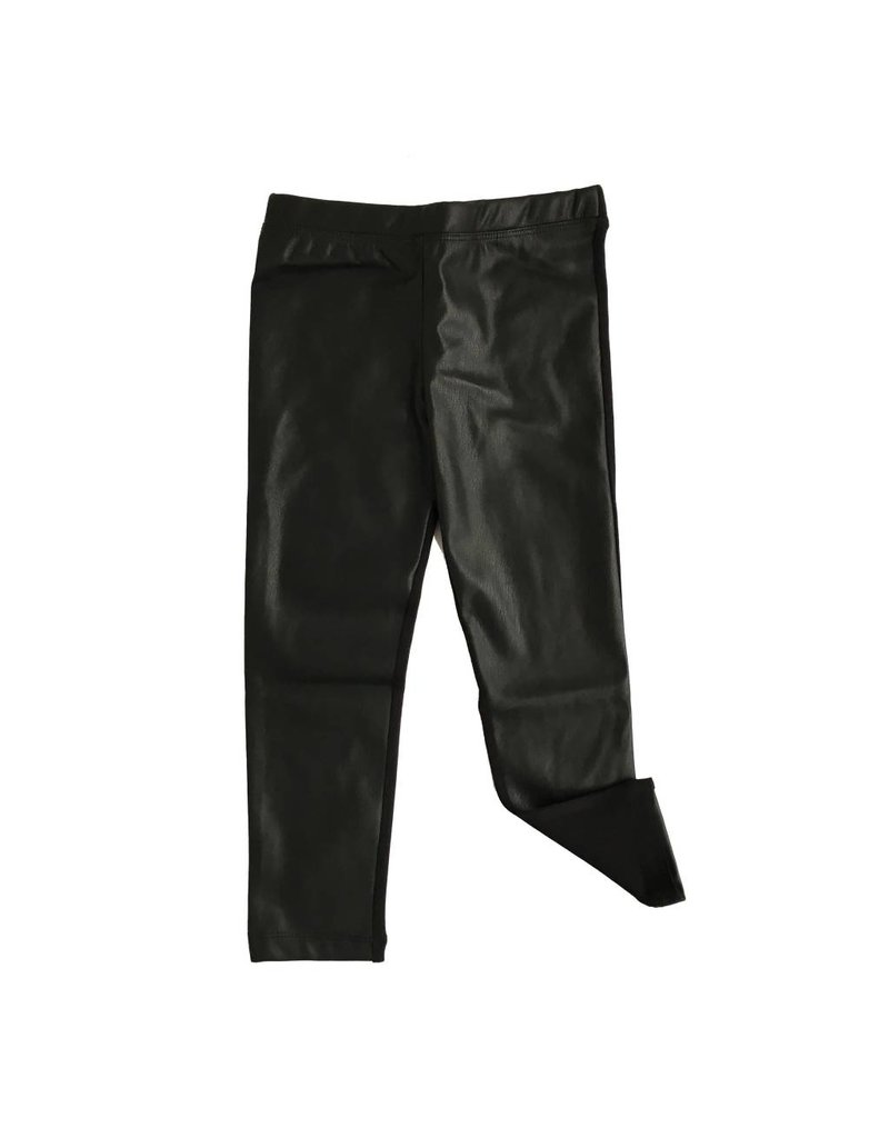 Design History Pleather Front Legging