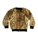 Design History Faux Fur Cheetah Jacket