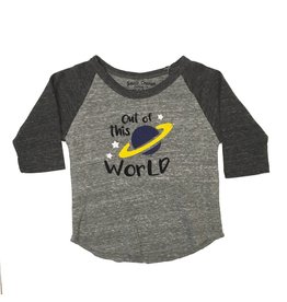 Small Change Out of this World Baseball Top