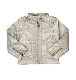 Frenchie Faux Leather Infant Moto Jacket