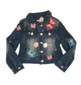 Baby Sara Patch Denim Infant Jacket