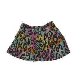 Sofi Colored Leopard Skirt