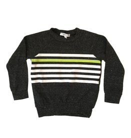 Joah Love Striped Knit Pullover