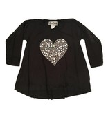Dori Creations Silver Heart Top