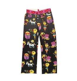Emoji Hacci Boxer Pants