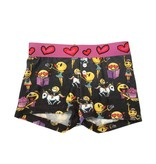 Emoji Hacci Boxer Shorts