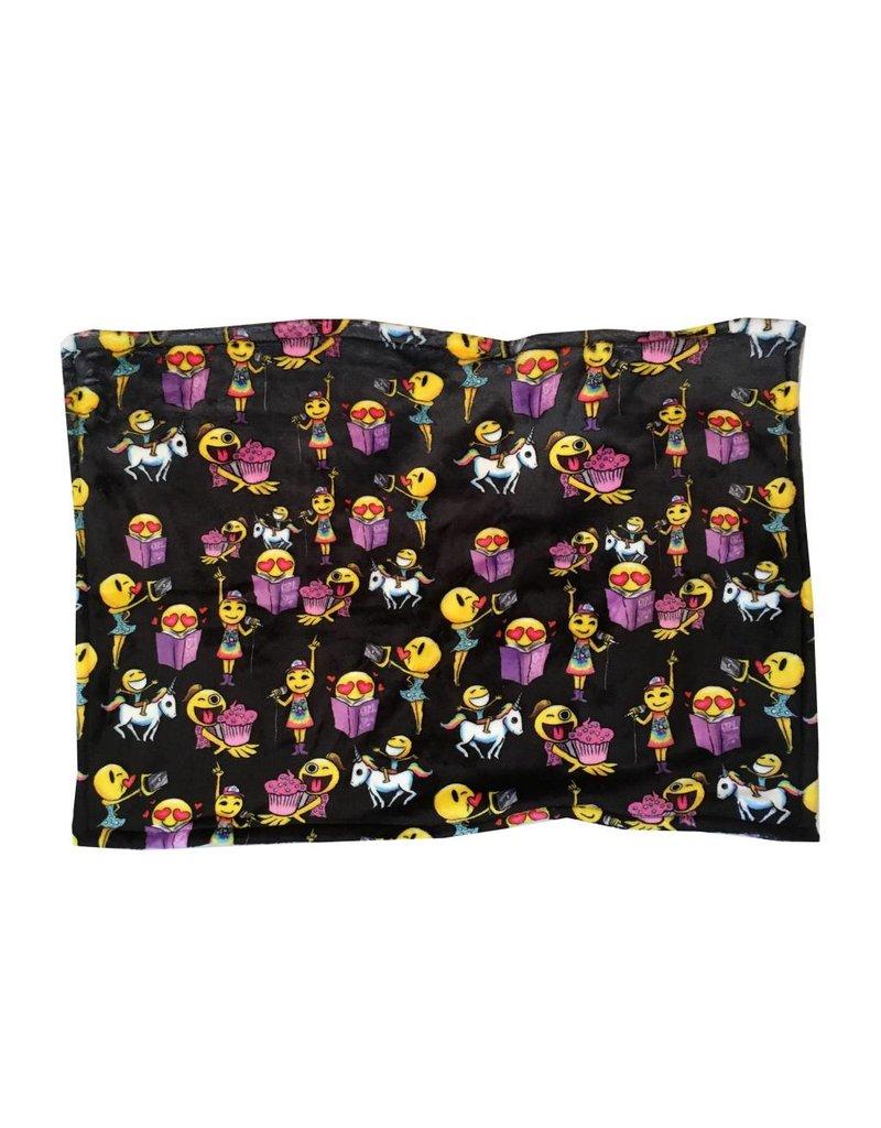 Emoji Fuzzy Pillow Sham