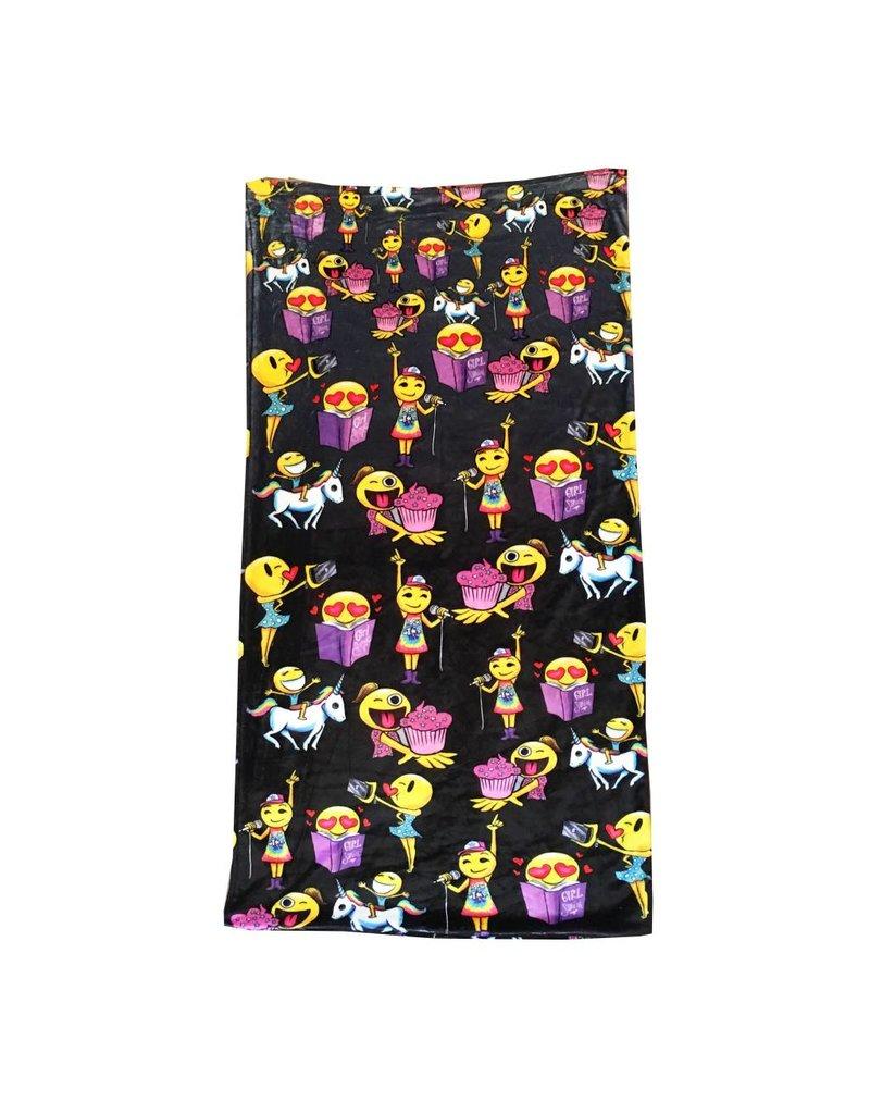 Emoji Fuzzy Sleep Sack