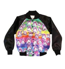 Unicorn Satin Jacket