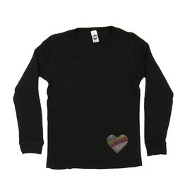 Rainbow Heart Patch Thermal