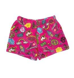 Malibu Sugar Love & Unicorns Plush Shorts