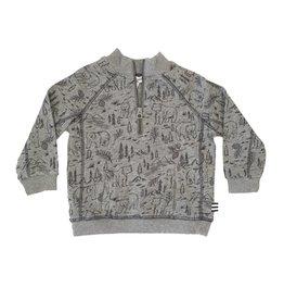 Splendid Woodland Half Zip Sweatshirt