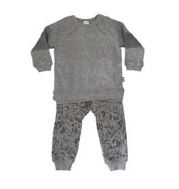 Splendid Woodland Sweatshirt Set