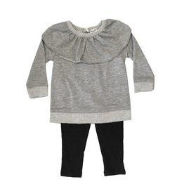 Splendid Ruffle Sweatshirt Set