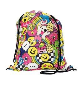 Emoji Drawstring Bag