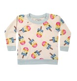 Chaser Painted Popsicles Knit Raglan