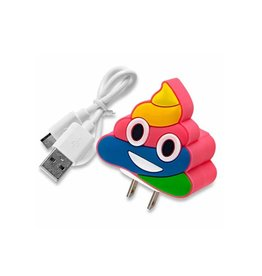 Poop Emoji Wall Charger