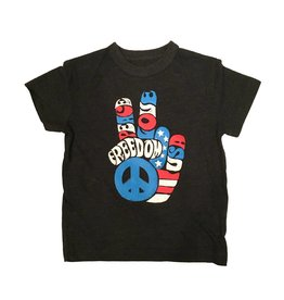 Chaser Freedom Fingers Tee