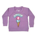 Chaser Oh Yeah Ice Cream Knit Raglan
