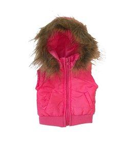 Doll Pink Fur Vest