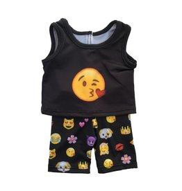 Doll Emoji Capri Set