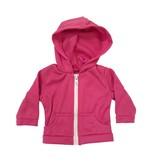 Doll Pink Zip Hoodie