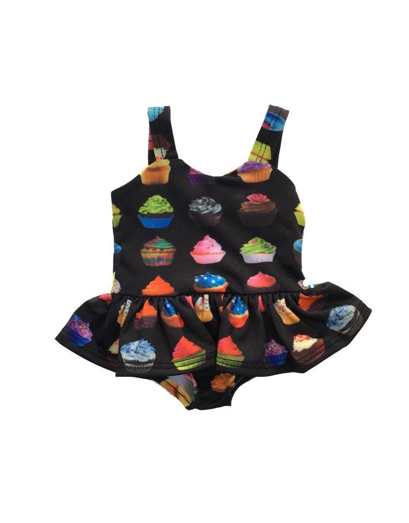 Doll Cupcake Ruffle Swimsuit