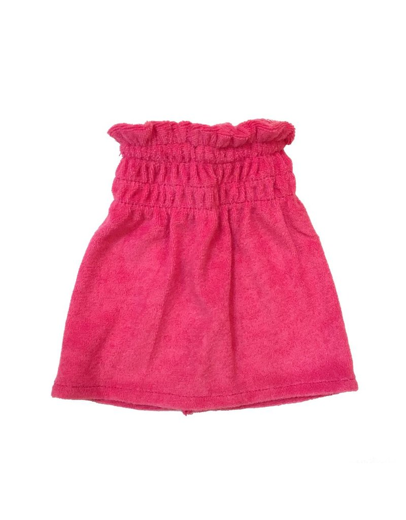 Doll Pink Terry Swimsuit Coverup