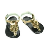 Doll Gold Sandals